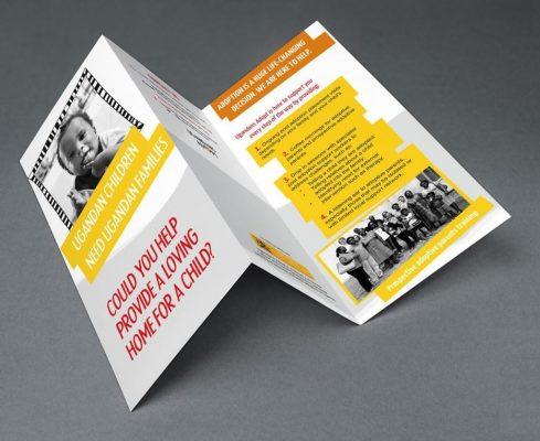 Mẫu in Brochure in Offset 4 màu CMYK với màu sắc tươi sáng, hài hòa