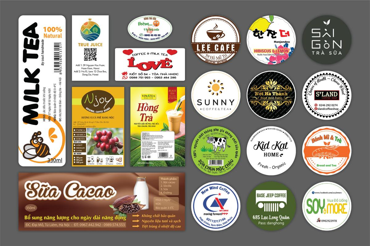 VIETADV- địa chỉ in tem dán ly giá tốt tại TP.HCM