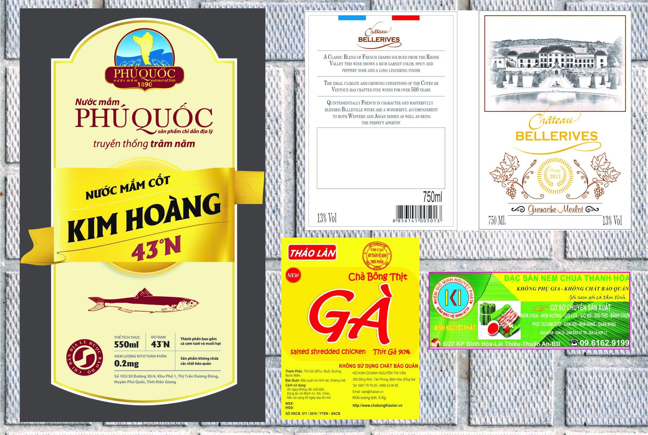 Ngôn ngữ in trên tem nhãn hàng hóa