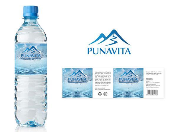 In tem nhãn nước đóng chai là cách doanh nghiệp tạo dựng thương hiệu tốt