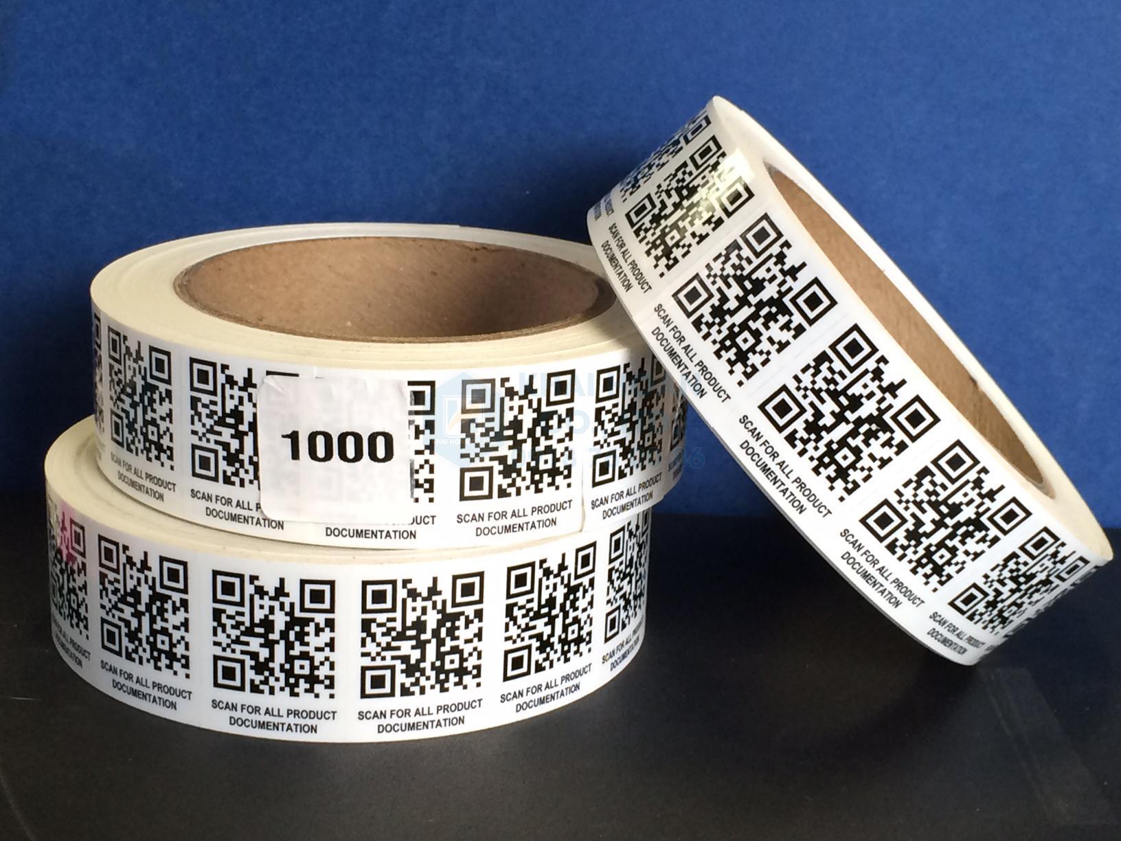 Tem QR Code là loại tem có mã đáp ứng nhanh