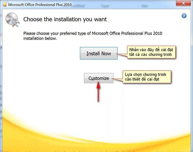 Install Now và chờ đợi
