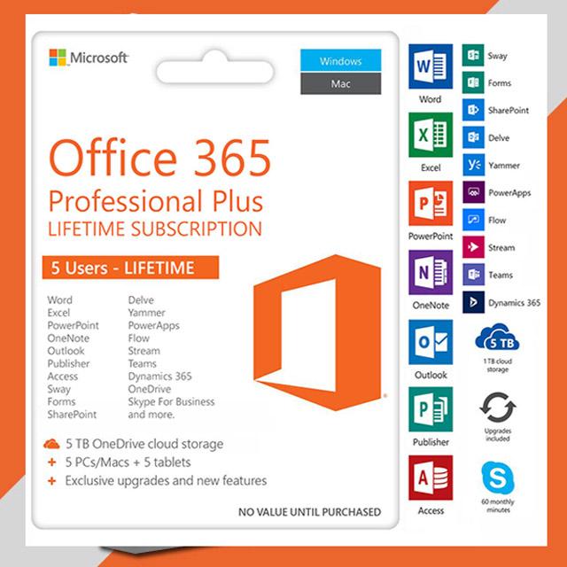 Tính năng Office Professional Plus
