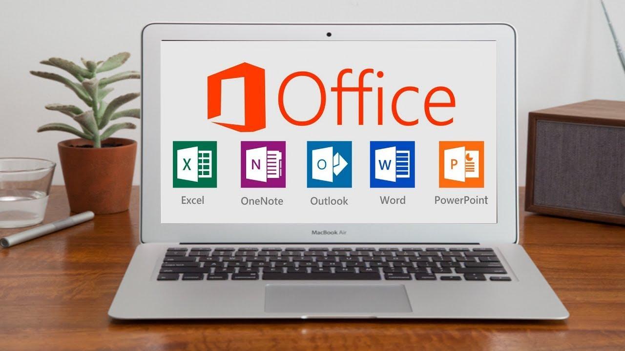 Hướng dẫn cài đặt Office MacBook