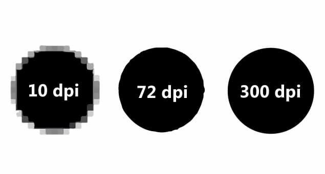 """DPI một cách đơn giản là từ viết tắt của """"chấm trên mỗi inch"""""""
