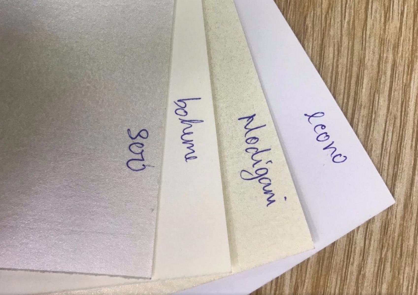 Các loại giấy mỹ thuật