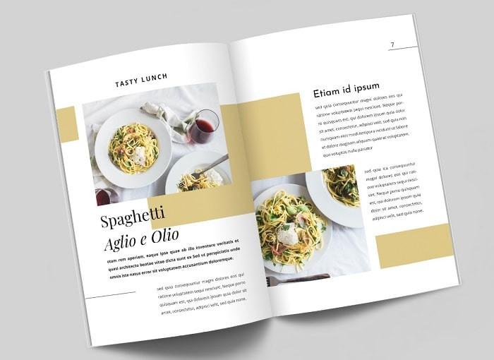 Mẫu catalog ẩm thực
