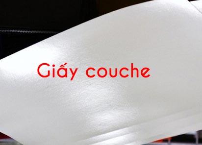 Giấy couche là loại giấy in thông dụng nhất hiện nay