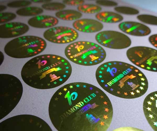 Chất liệu in decal 7 màu - hologram