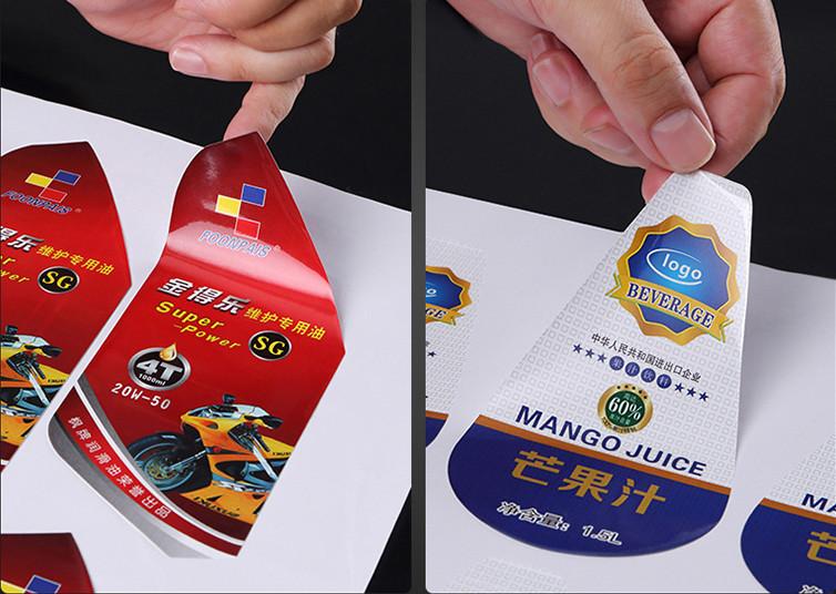 Công dụng chính của decal là làm nhãn dán sản phẩm