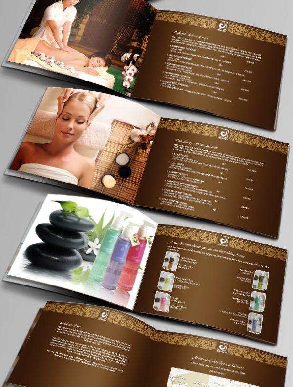 Mẫu thiết kế catalog