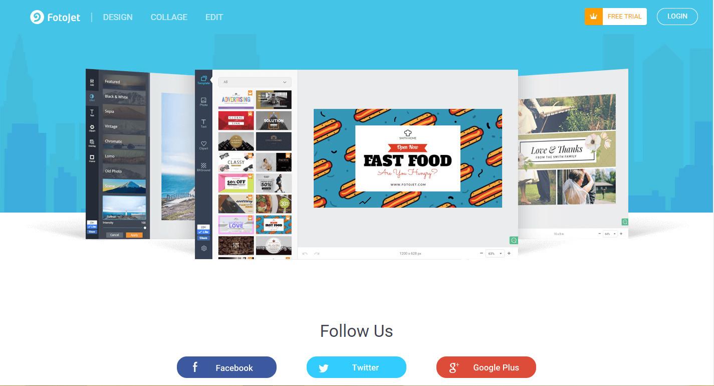 Phần mềm Fotojet – Phần mềm thiết kế nổi tiếng hiện nay