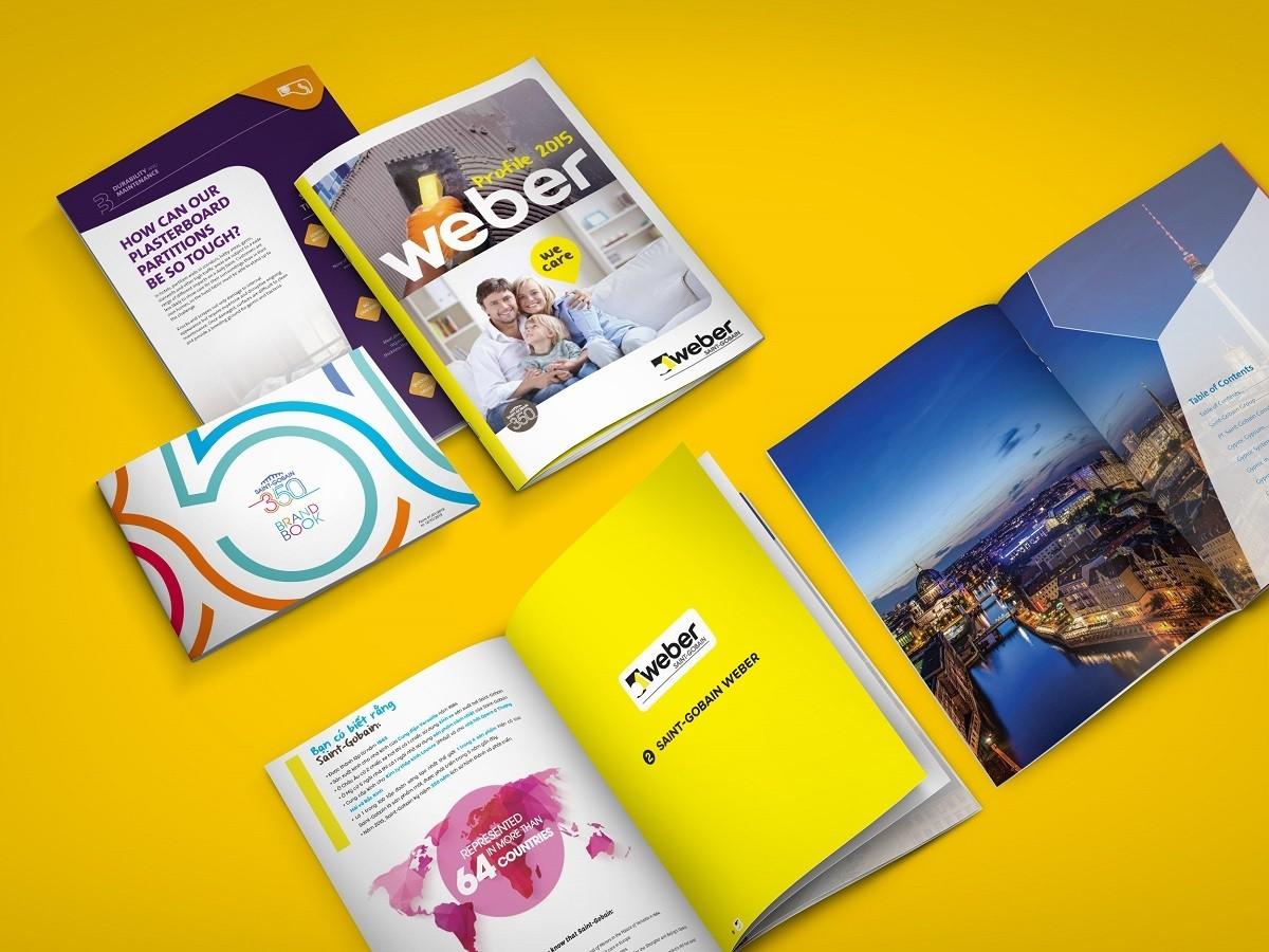 Catalogue là ấn phẩm quảng cáo các sản phẩm của công ty