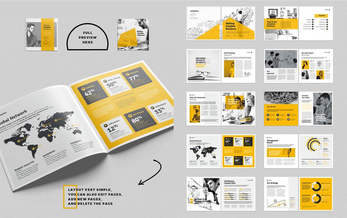 Việc thiết kế catalogue được thực hiện theo quy trình chuẩn