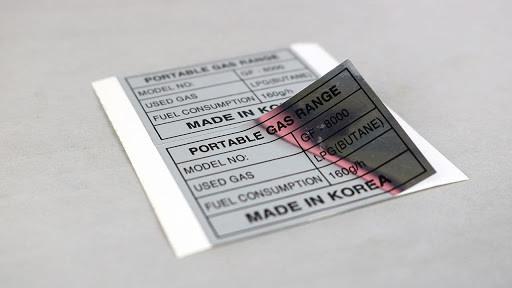 Chất liệu in tem nhãn bằng xi bạc