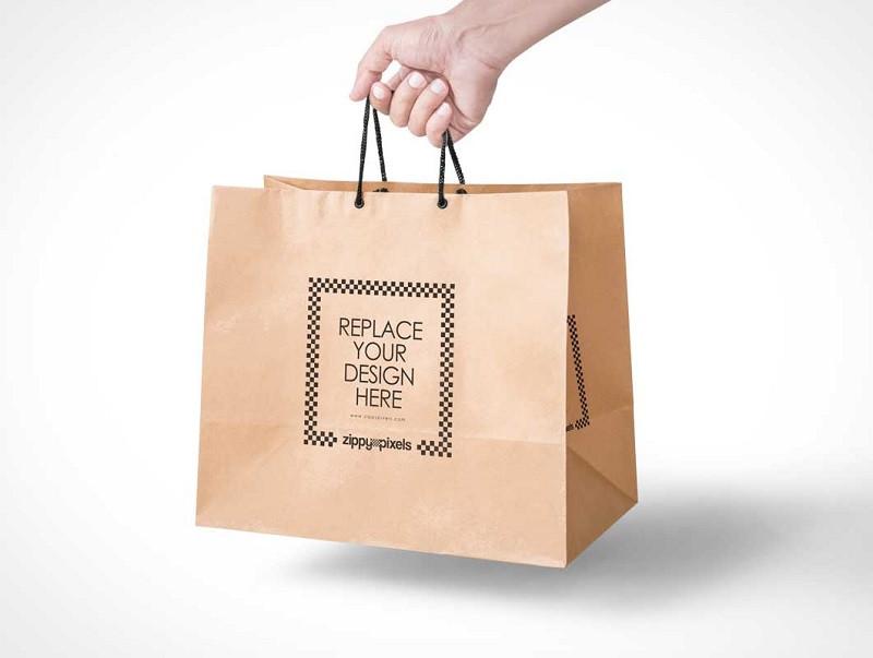 Túi giấy in giúp quảng bá thương hiệu, thu hút sự quan tâm của khách hàng
