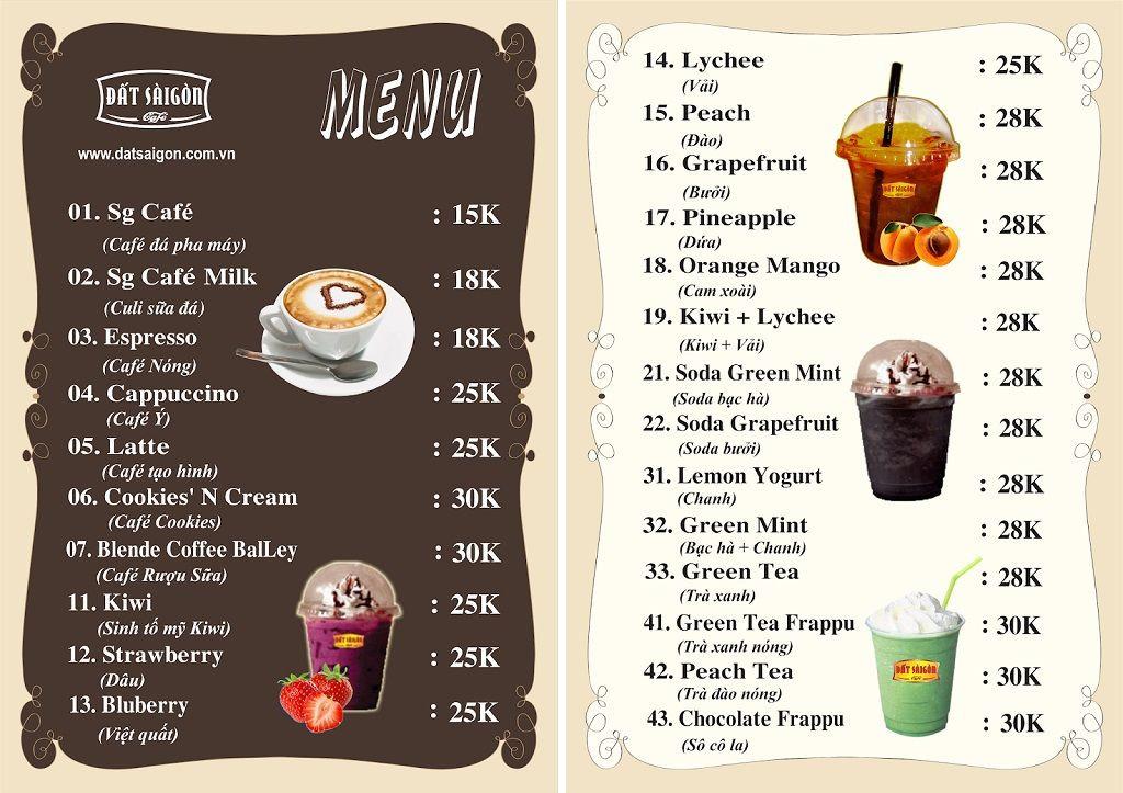 5 Bước đơn giản tự thiết kế menu