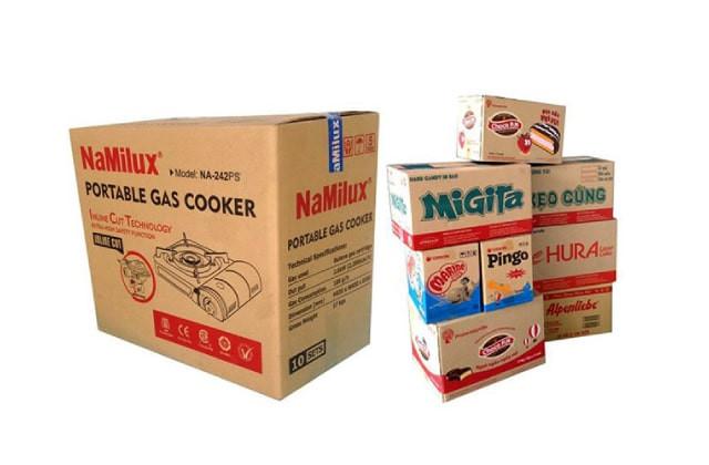 Cần lưu ý in trên thùng carton thông tin chi tiết về sản phẩm rõ ràng, cẩn thận