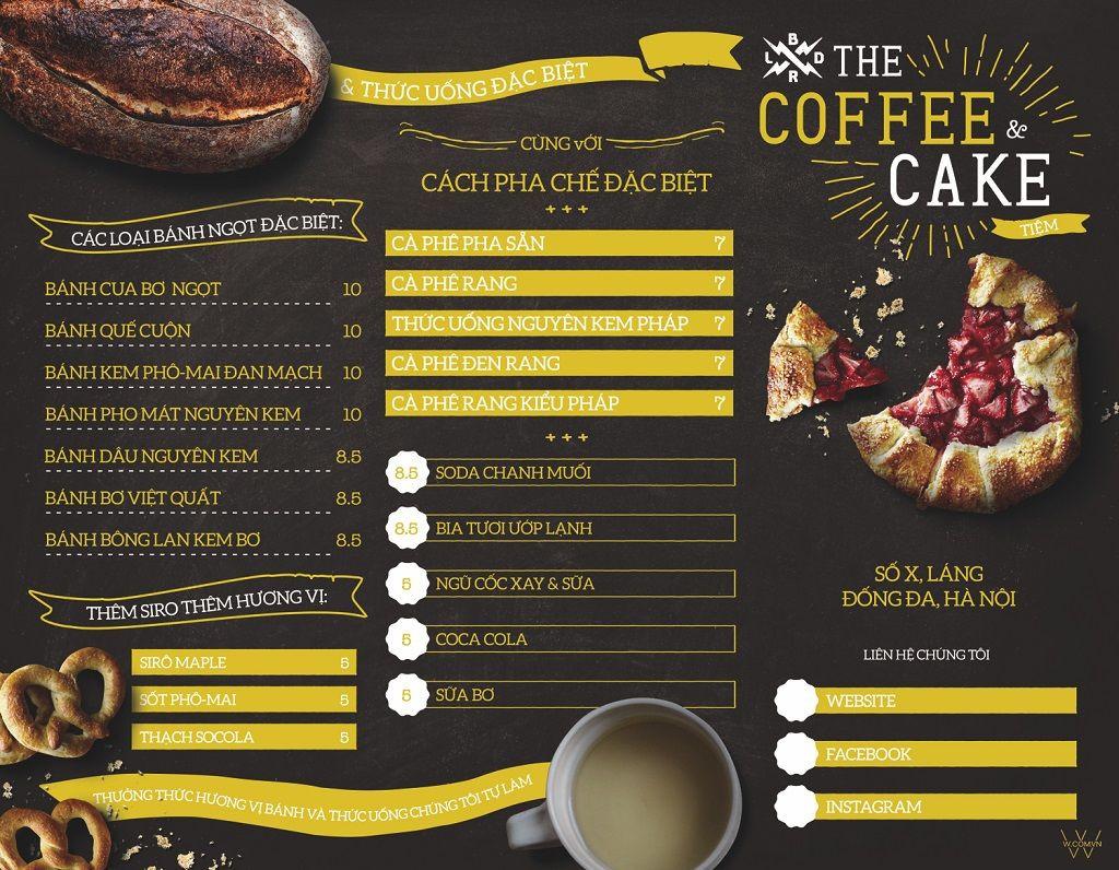 6 phần mềm thiết kế menu miễn phí