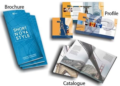 Brochure có thiết kế cực cuốn hút
