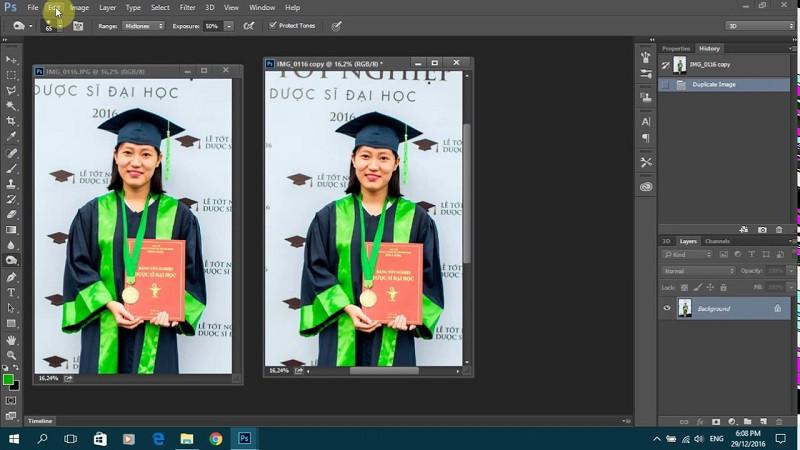 Có thể sử dụng Photoshop để chuyển đổi màu