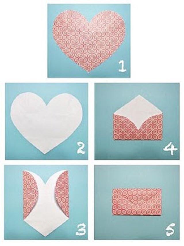 Hướng dẫn chi tiết cách gấp phong bì thư bằng giấy A4 kết hợp phong cách thiệp