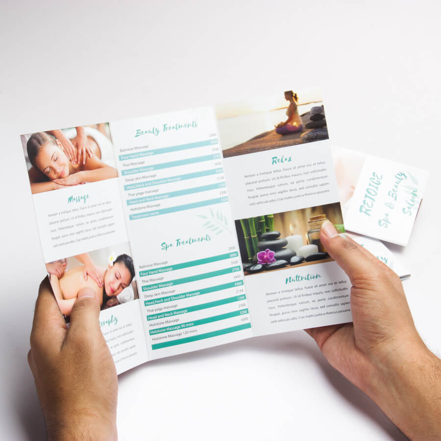 In Brochure là gì? In Brochure sử dụng công nghệ in nào?