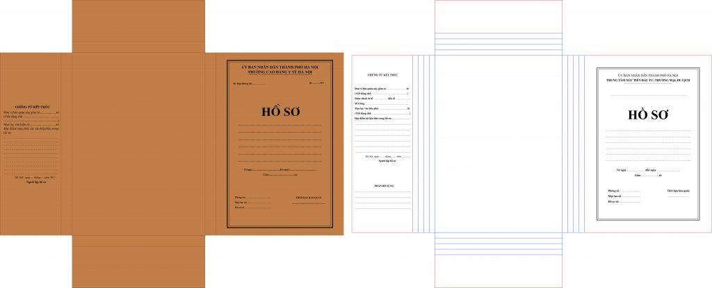 Kích thước bìa hồ sơ chuẩn như thế nào?
