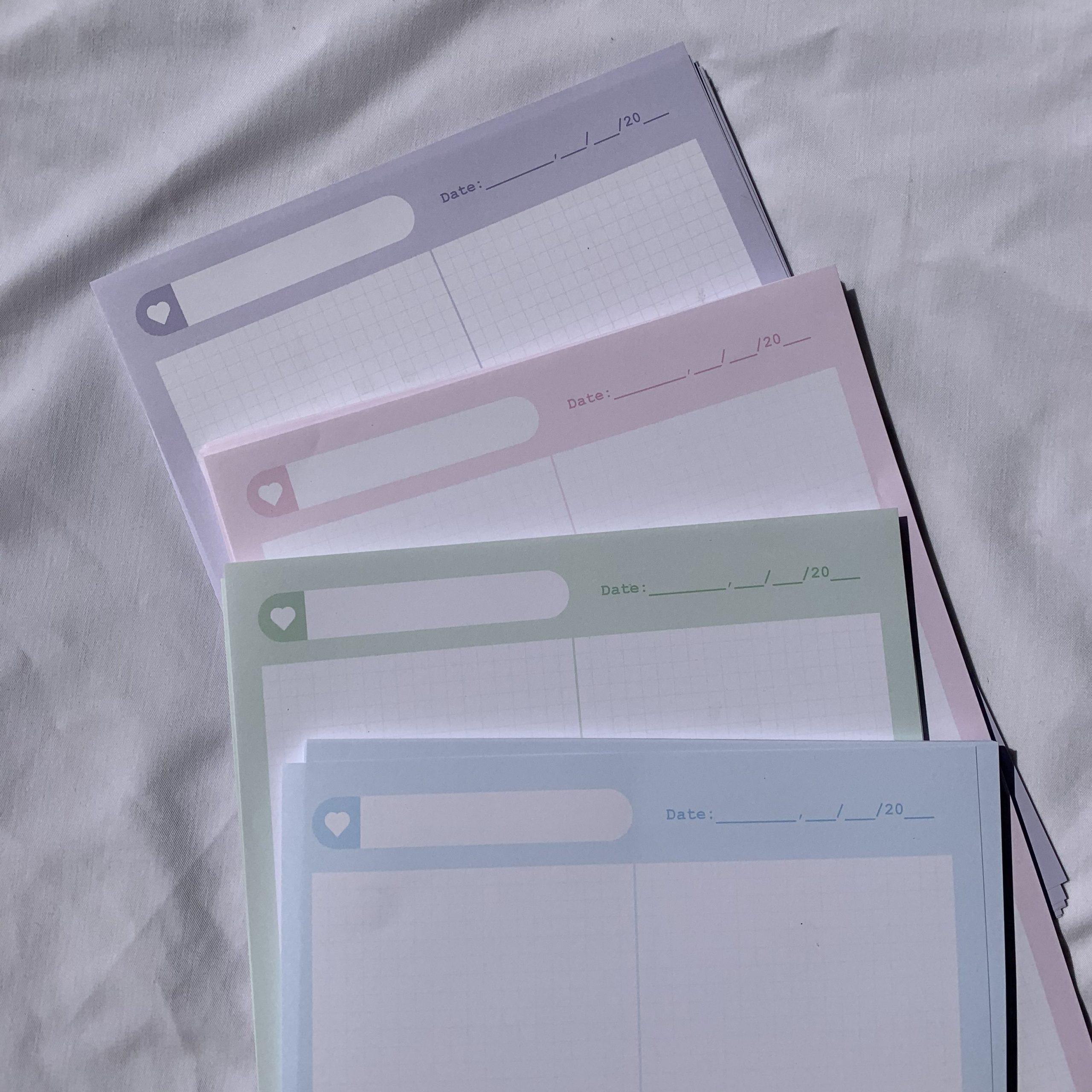 Kích thước in giấy note thông dụng nhất hiện nat