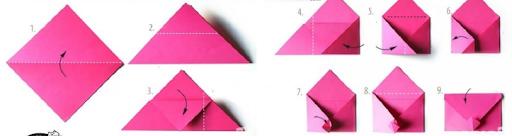 Làm phong bì thư bằng giấy A4 phong cách ngộ nghĩnh ra sao?
