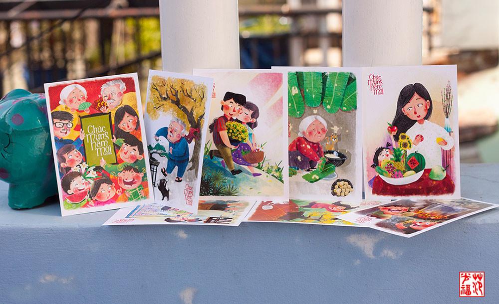 Postcard là những tấm bưu thiếp chứa đựng nội dung mang 1 ý nghĩa nào đó