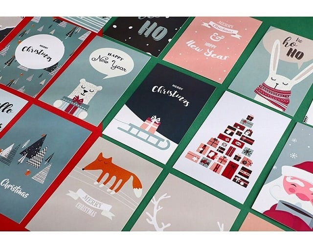Postcard thường được sử dụng như 1 quà tặng kèm