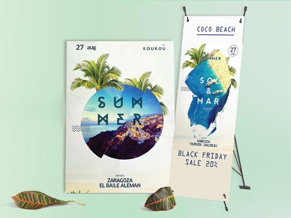 Poster là một ấn phẩm thể hiện thông tin qua text hoặc hình ảnh