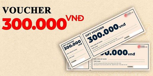 Voucher là một tờ phiếu giảm giá, khuyến mãi