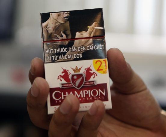Bao bì thuốc lá cần có cảnh báo sức khỏe