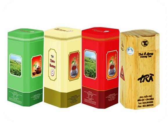 Muốn truyền tải thông tin đến khách hàng cần chú ý đến hình ảnh in ấn trên hộp Trà
