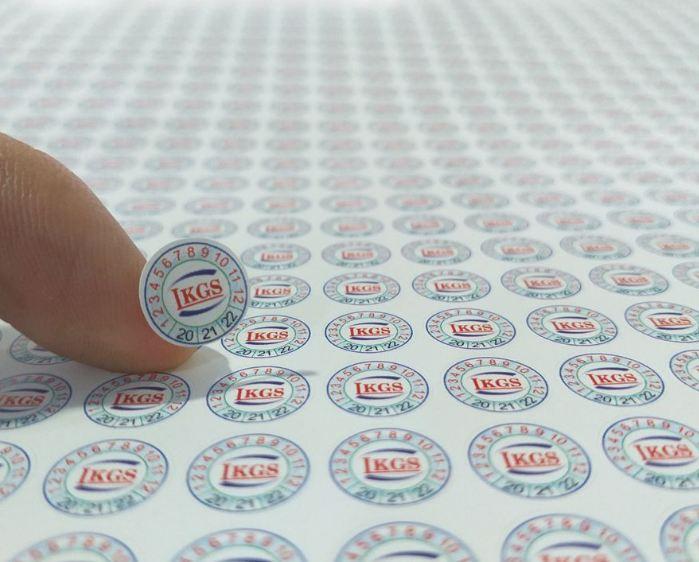 Khi in tem bể cần lưu ý tới những thông tin xuất hiện trên tem