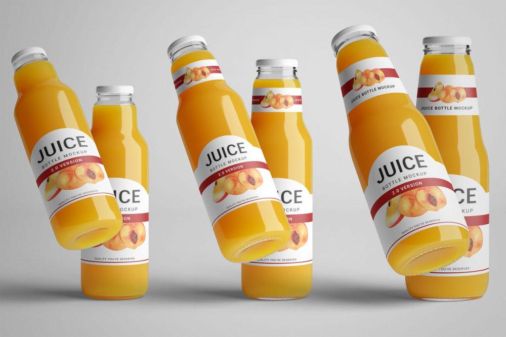 Tem nhựa được dùng nhiều trong nhãn mác chai đồ uống