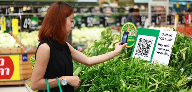 Tem truy xuất nguồn gốc giúp cung cấp thông tin sản phẩm nhanh chóng
