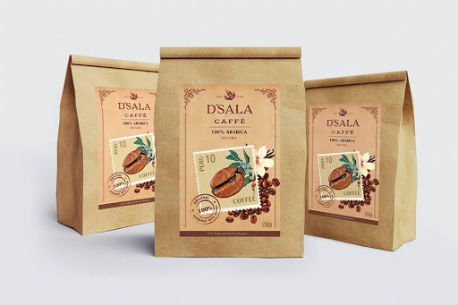 Sử dụng túi giấy đựng cà phê là lựa chọn của nhiều doanh nghiệp