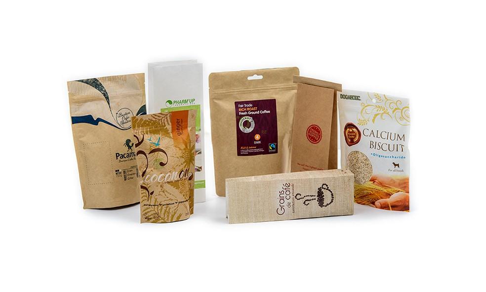 Túi đựng cà phê được thiết kế bắt mắt, gây ấn tượng với khách hàng