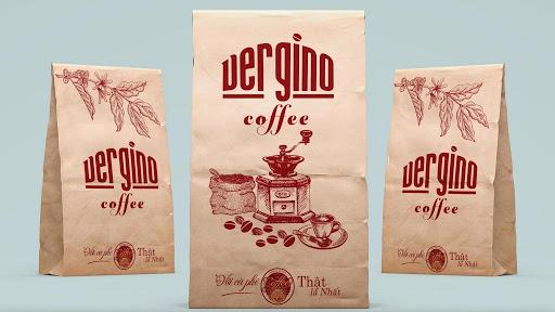 Giấy Kraft là chất liệu phổ biến dùng để in túi đựng cà phê