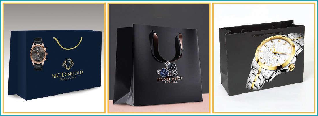 Túi giấy giúp sản phẩm thêm sự sang trọng