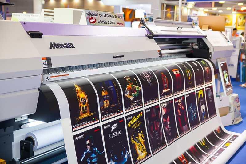 Kỹ thuật in ấn kỹ thuật số được sử dụng nhiều
