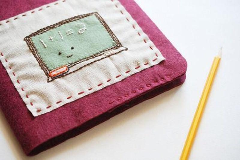 Làm bìa cho cuốn sổ tay handmade của mình