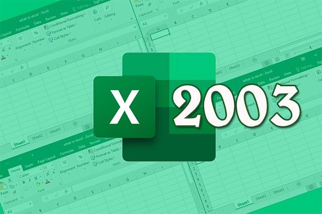 Tải Excel 2003 về máy tính và trải nghiệm ngay!!!